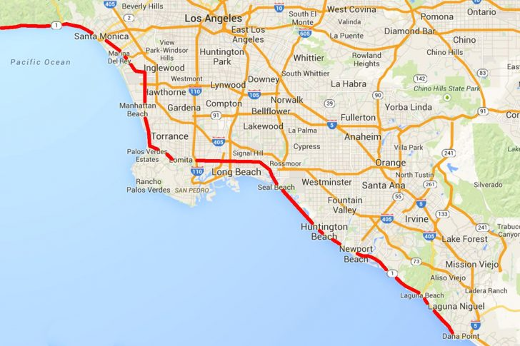 Off Road Maps Southern California