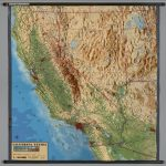 California Raised Relief Map Valid San Francisco Geography Map   California Raised Relief Map