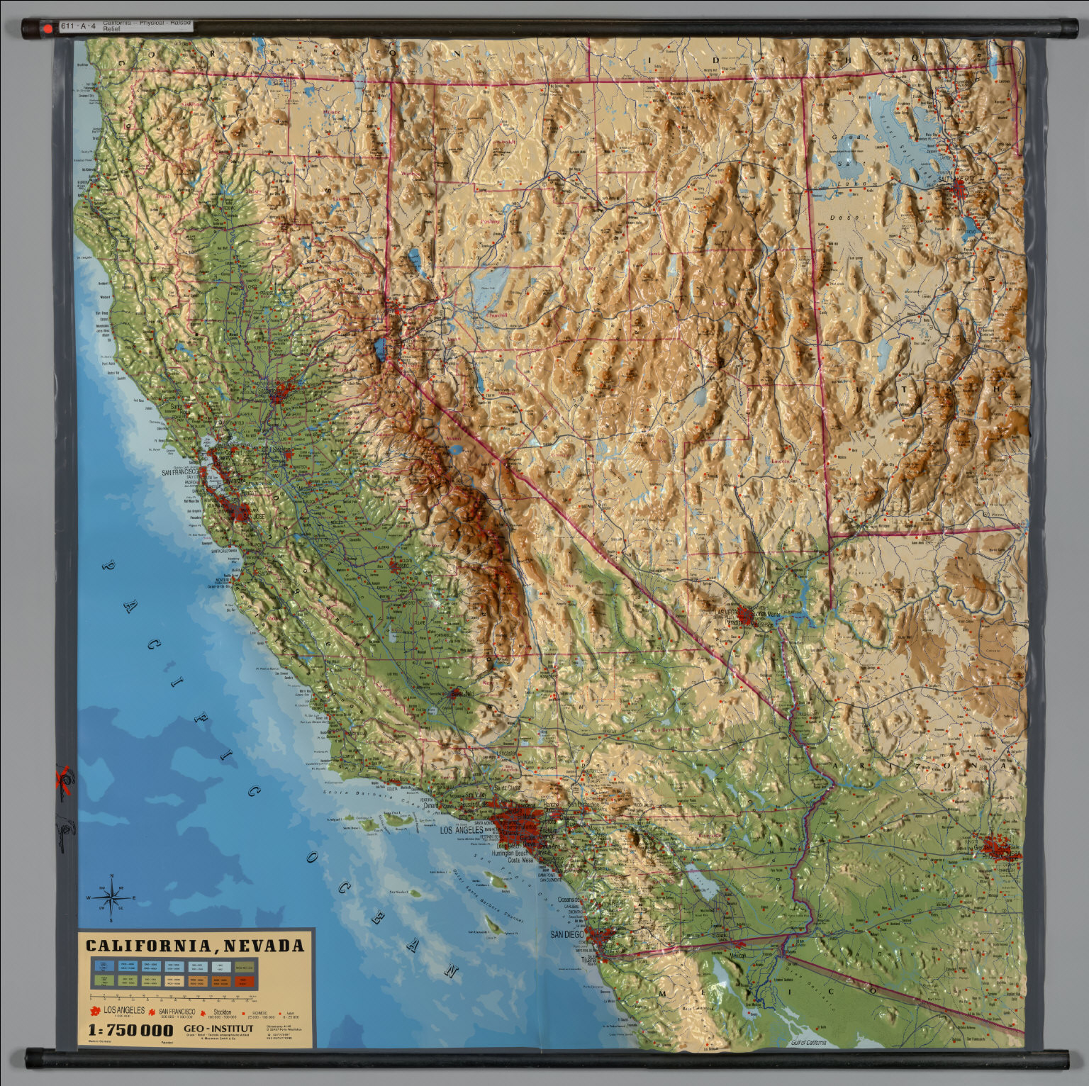 California Raised Relief Map Valid San Francisco Geography Map - California Raised Relief Map