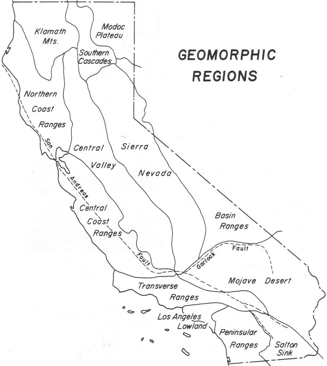 California Regions Map 4Th Grade - Klipy - California Regions Map Printable