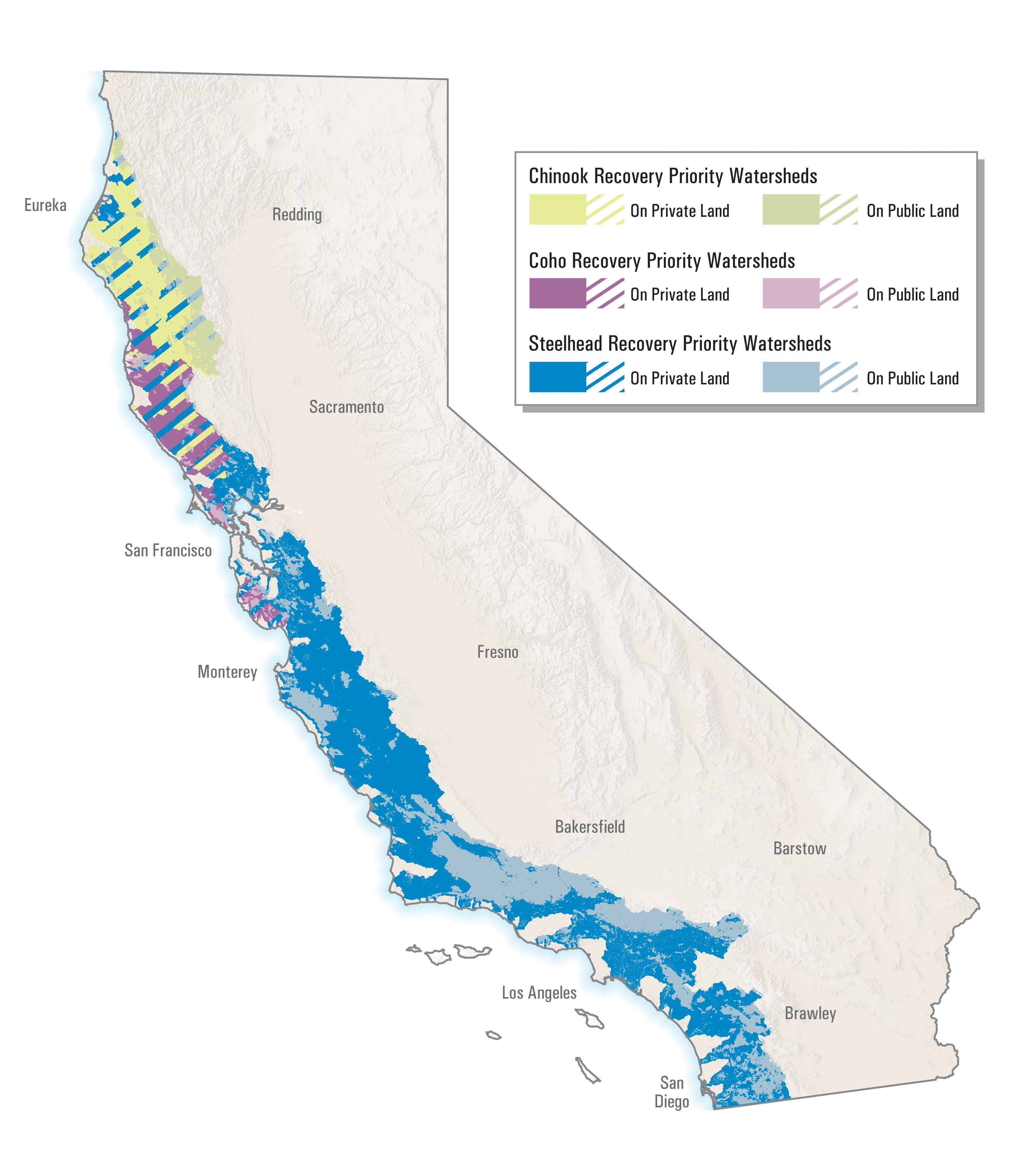 California Relief Map Project Printable Chris Henrick Cartography - California Relief Map Printable