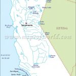 California River Map | Maps (Mostly Old) | Pinterest | Rivers In   California Rivers Map