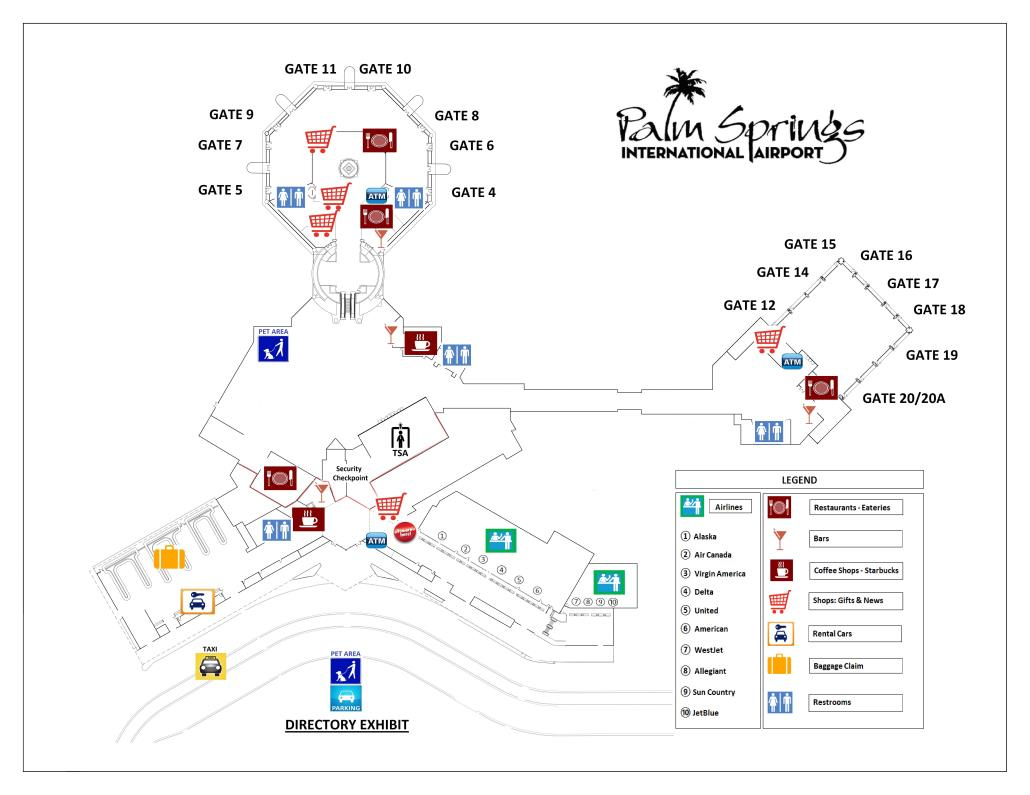 California Road Map Map Of California Showing Palm Springs - Klipy - Map Of California Showing Palm Springs