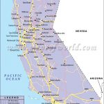 California Road Network Map | California | Highway Map, California   Printable Road Map Of California