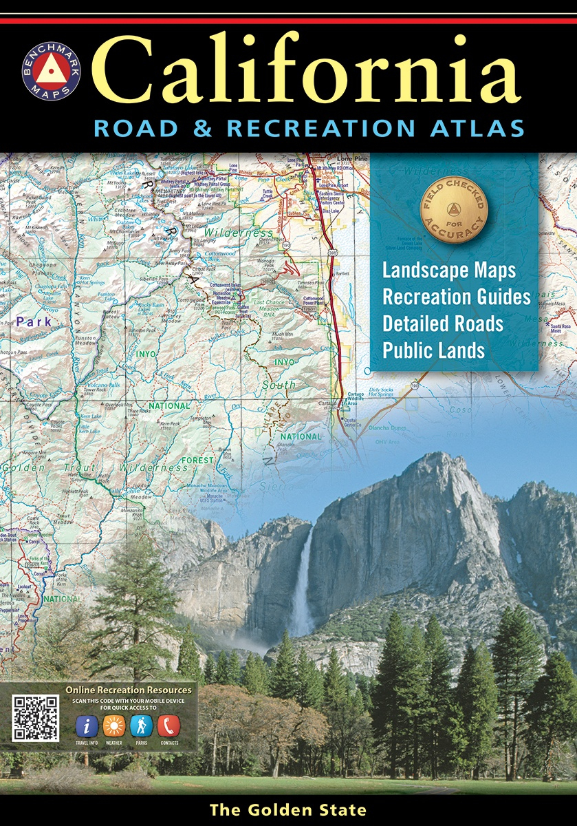 California Road & Recreation Atlas — Benchmark Maps - Benchmark Maps California
