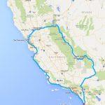California Rv Road Trip Planner   Roverpass   California Trip Planner Map