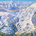 California Ski Maps | Kirkwood Ski Resort Trail Map   Kirkwood California Map