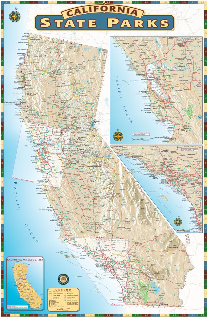 California State Parks Map