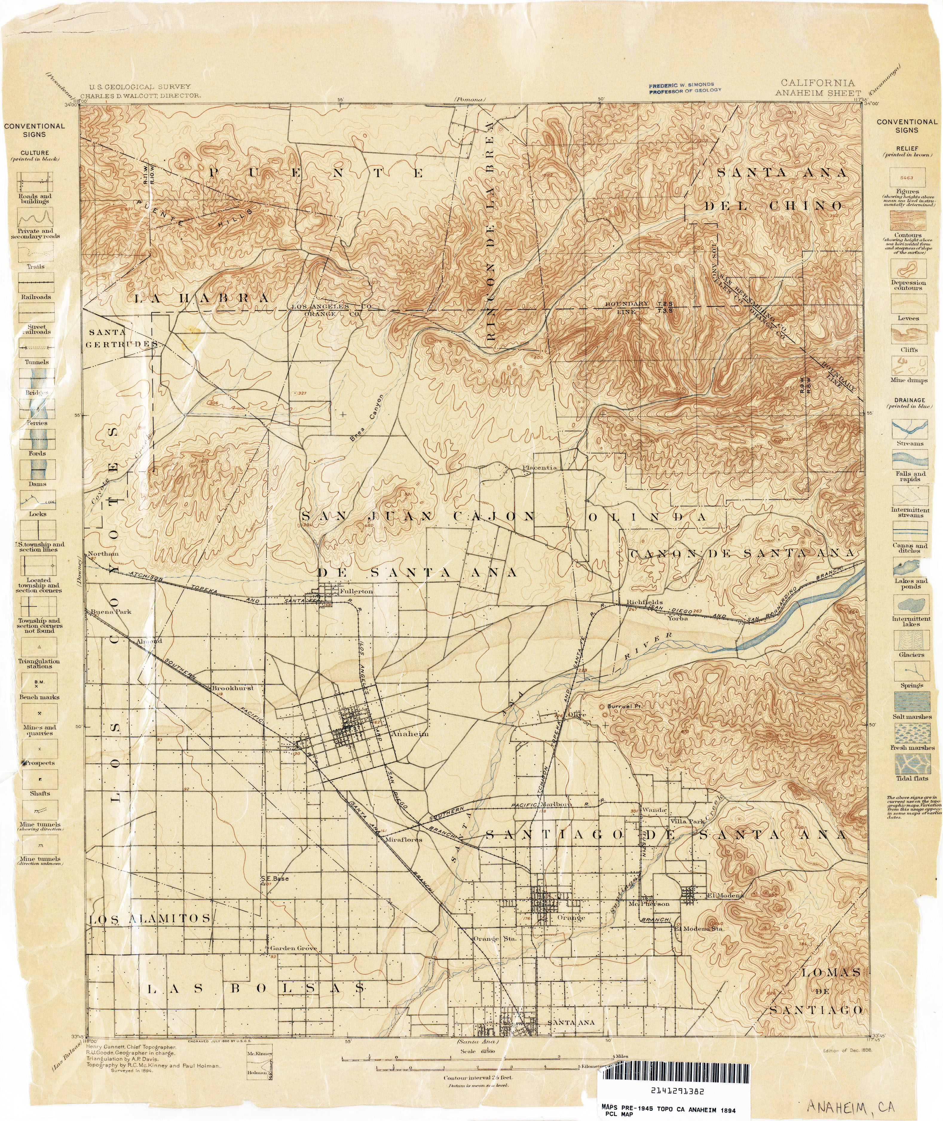 California Topographic Maps - Perry-Castañeda Map Collection - Ut - Early California Maps