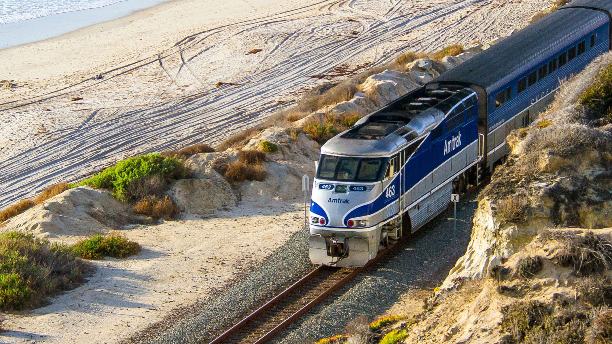 California Train Routes | Amtrak - Amtrak Train Map California