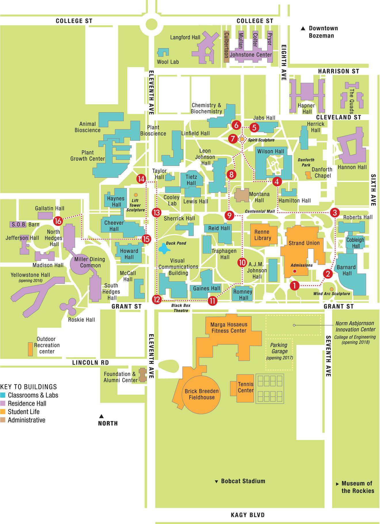 California University Of Pa Campus Map Reference Us Madison Campus - California University Of Pa Campus Map