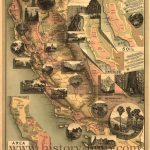 California) Vintage California History Map | Road Trip | Pinterest – Vintage California Map