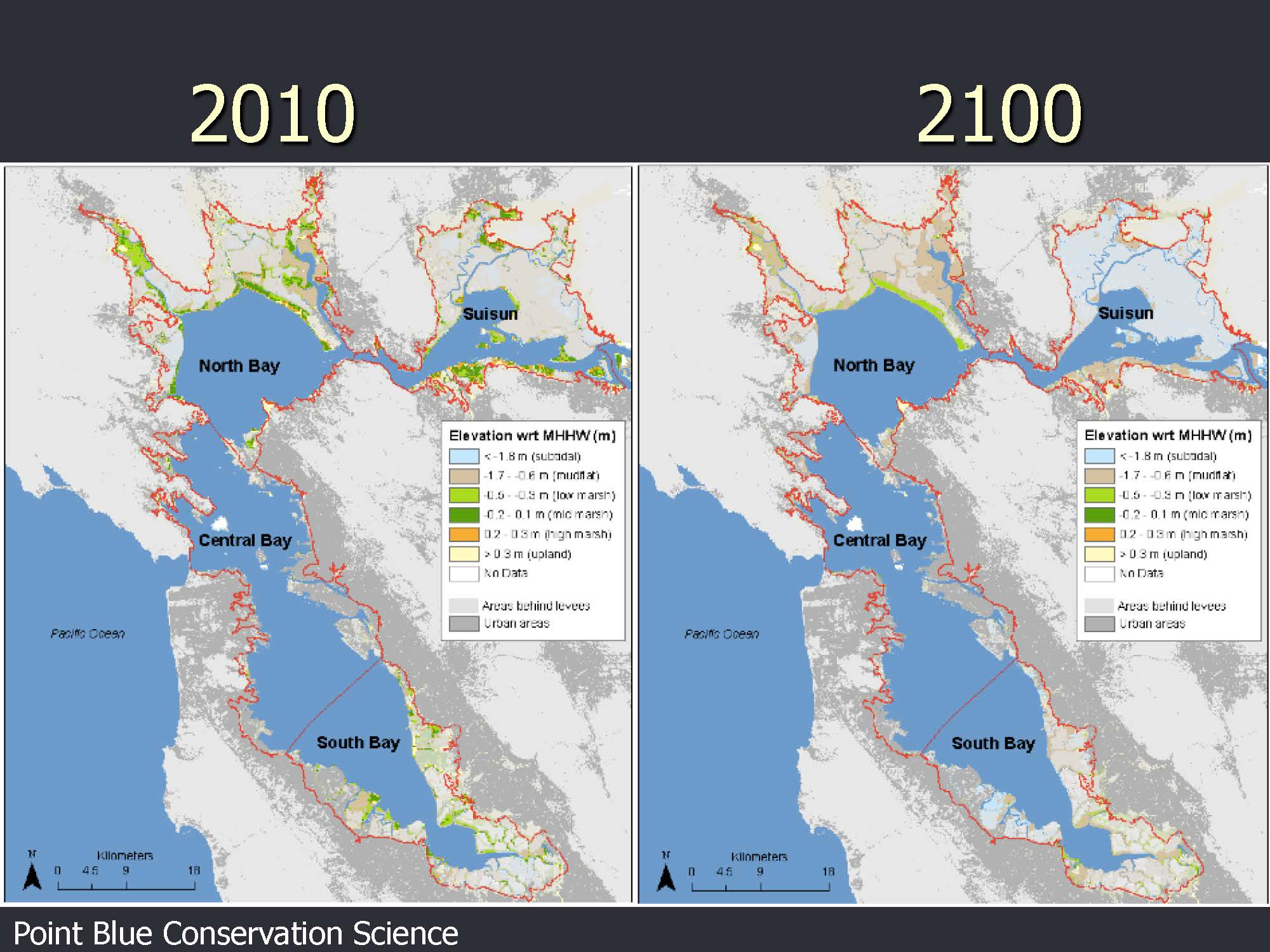 California Water Policy Seminar Series: Reconciling Ecosystem Goals - California Sea Level Map