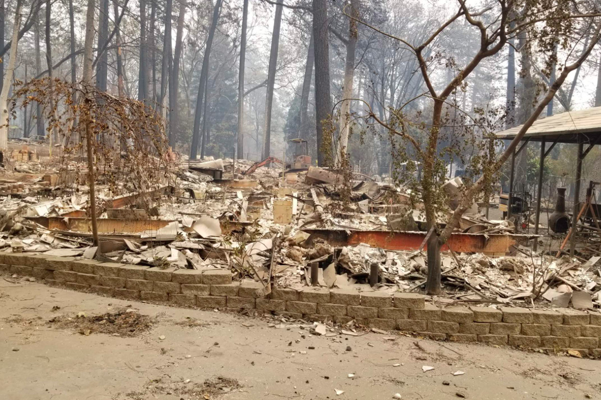 California Wildfire: Map Shows Homes Destroyed The Camp Fire - Curbed Sf - California Fire Damage Map