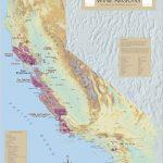 California Wine Regions   California Wine Appellation Map