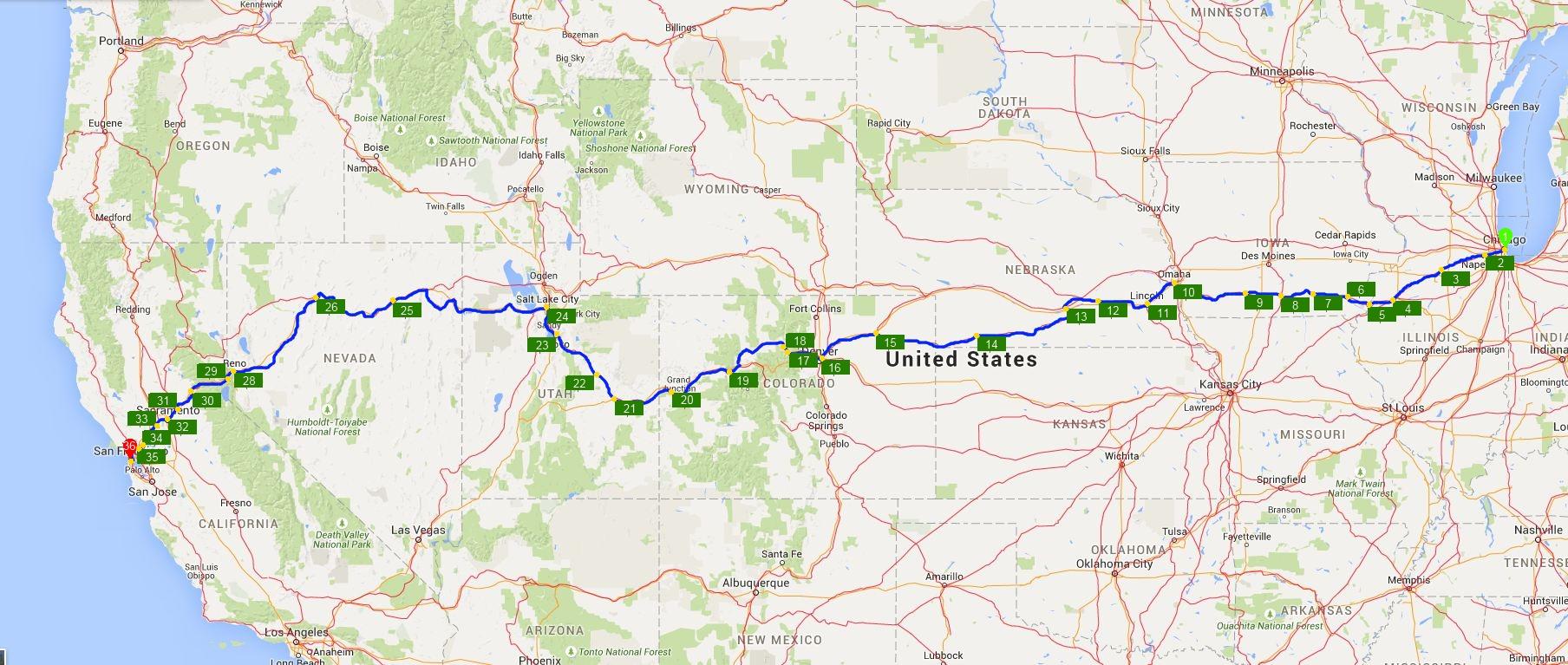 California Zephyr Route Nanovor New Amtrak Map - Touran - California Zephyr Map
