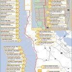 California's Central Coast Road Trip Guide   Camping Central California Coast Map