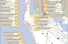 California's Central Coast Road Trip Guide – Camping Central California Coast Map