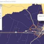 Cameron, Texas Opportunity Zone Coverage | Cameron Industrial Foundation   Texas Opportunity Zone Map