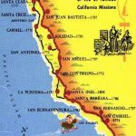 Caminorealmap California Map With Cities Map Of California Missions   California Missions Map For Kids