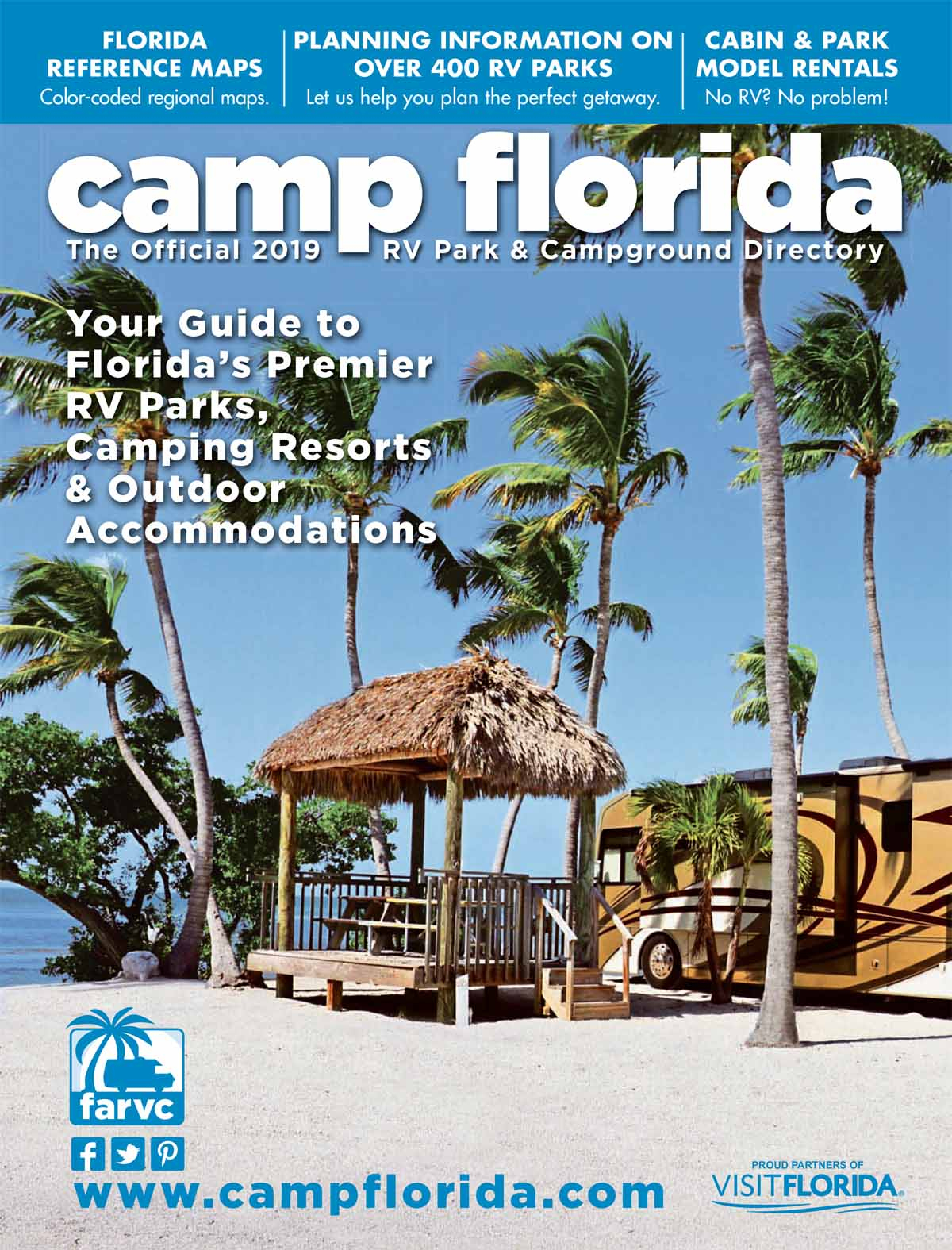 Camp Florida Rv Parks And Campgrounds - Map Of Rv Parks In Florida
