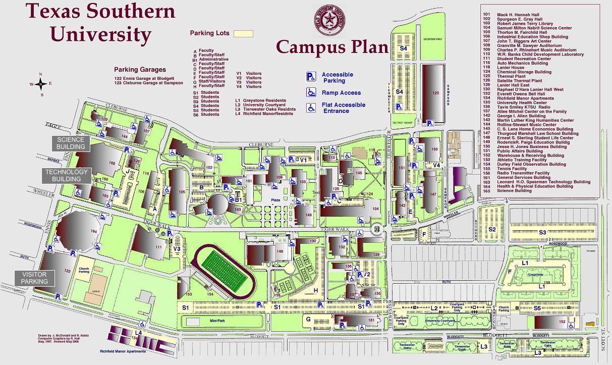 Campus Map - Texas Tech Housing Map