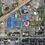 Campus Maps | Transportation & Parking Services | Ttu – Texas Tech Campus Map