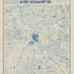 Can You Find Your Neighborhood On This 1900 Map Of Dallas? – Oak Cliff – Street Map Of Dallas Texas