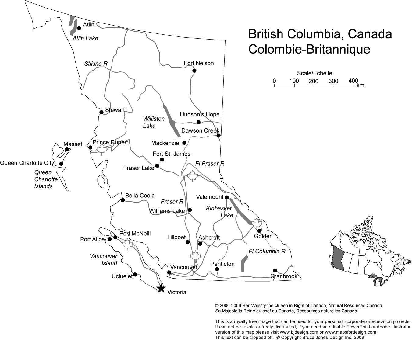 Canada And Provinces Printable, Blank Maps, Royalty Free, Canadian - Free Printable Map Of Canada