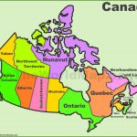 Canada Provinces And Territories Map | List Of Canada Provinces And – Free Printable Map Of Canada Provinces And Territories