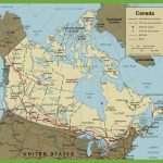Canada Road Map   Printable Road Map Of Canada