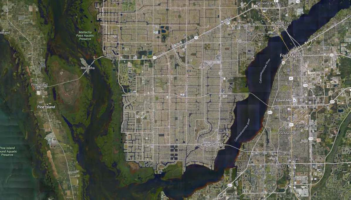 Cape Coral, Florida -Google Maps | America | Pinterest | City - Google Maps Cape Coral Florida
