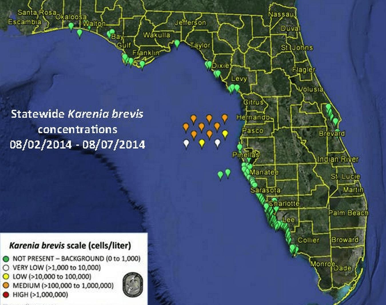 Captiva Fishing Report: No Red Tide ~ Sanibel, Captiva, North - North Captiva Island Florida Map