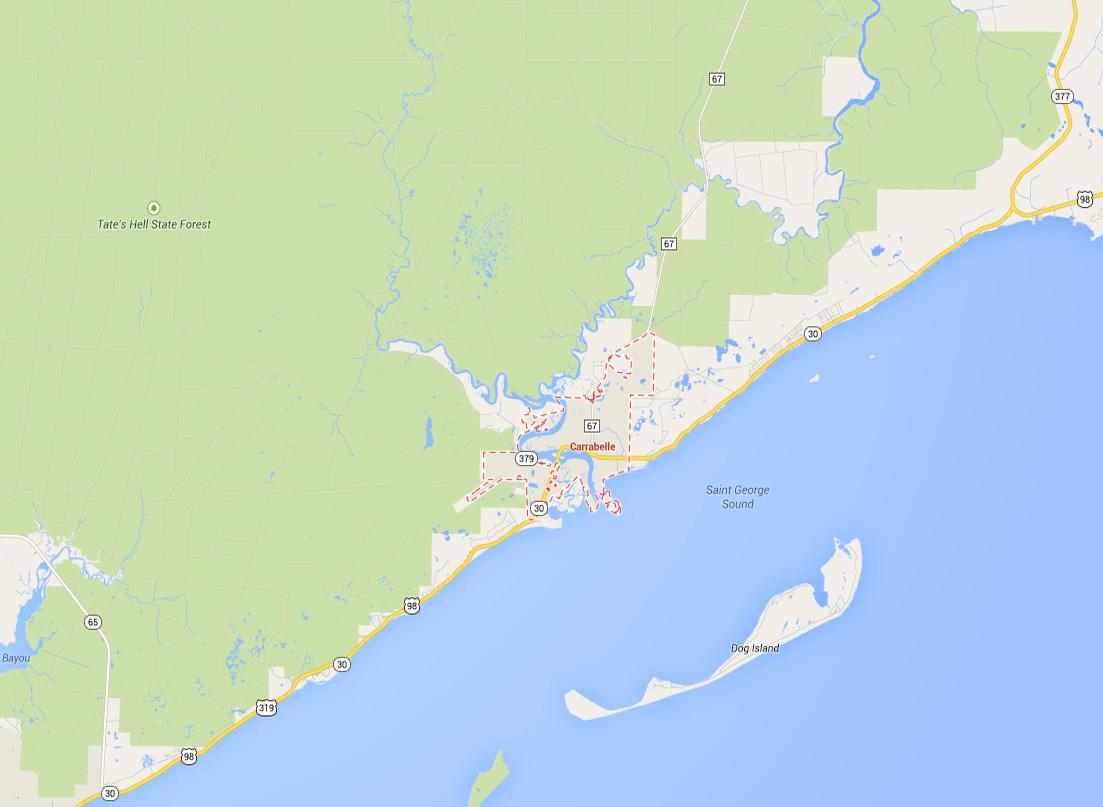 Carrabelle Tarpon Fishing - Nolaguides - Carrabelle Island Florida Map
