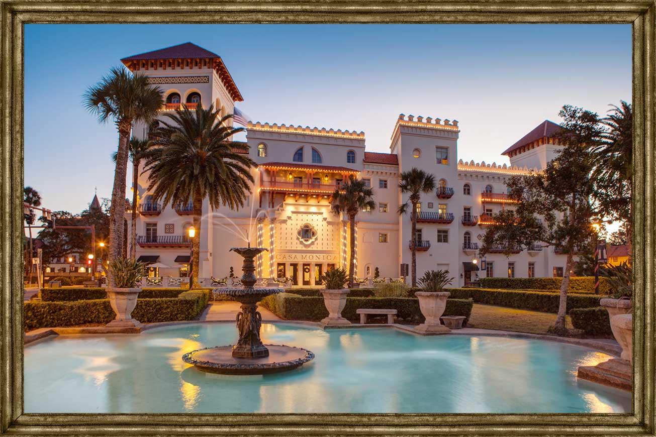 Casa Monica Resort & Spa | St. Augustine Florida Hotels - Map Of Hotels In St Augustine Florida