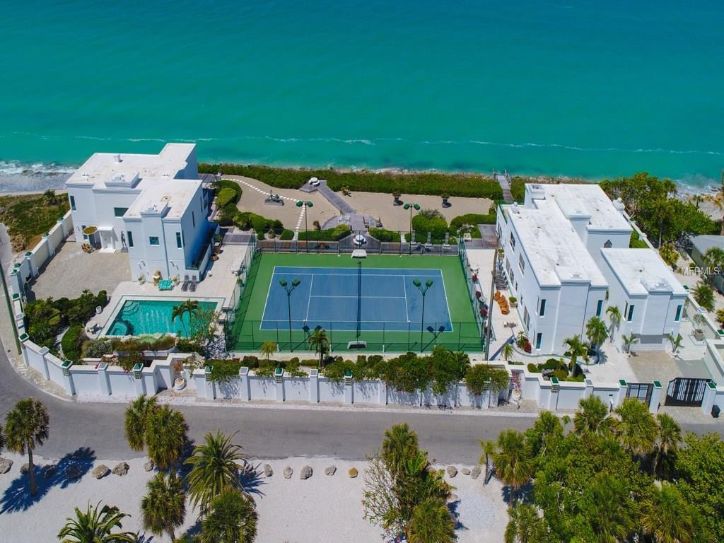 Casey Key Real Estate, 49 Homes For Sale, Fl - Michael Saunders - Casey Key Florida Map