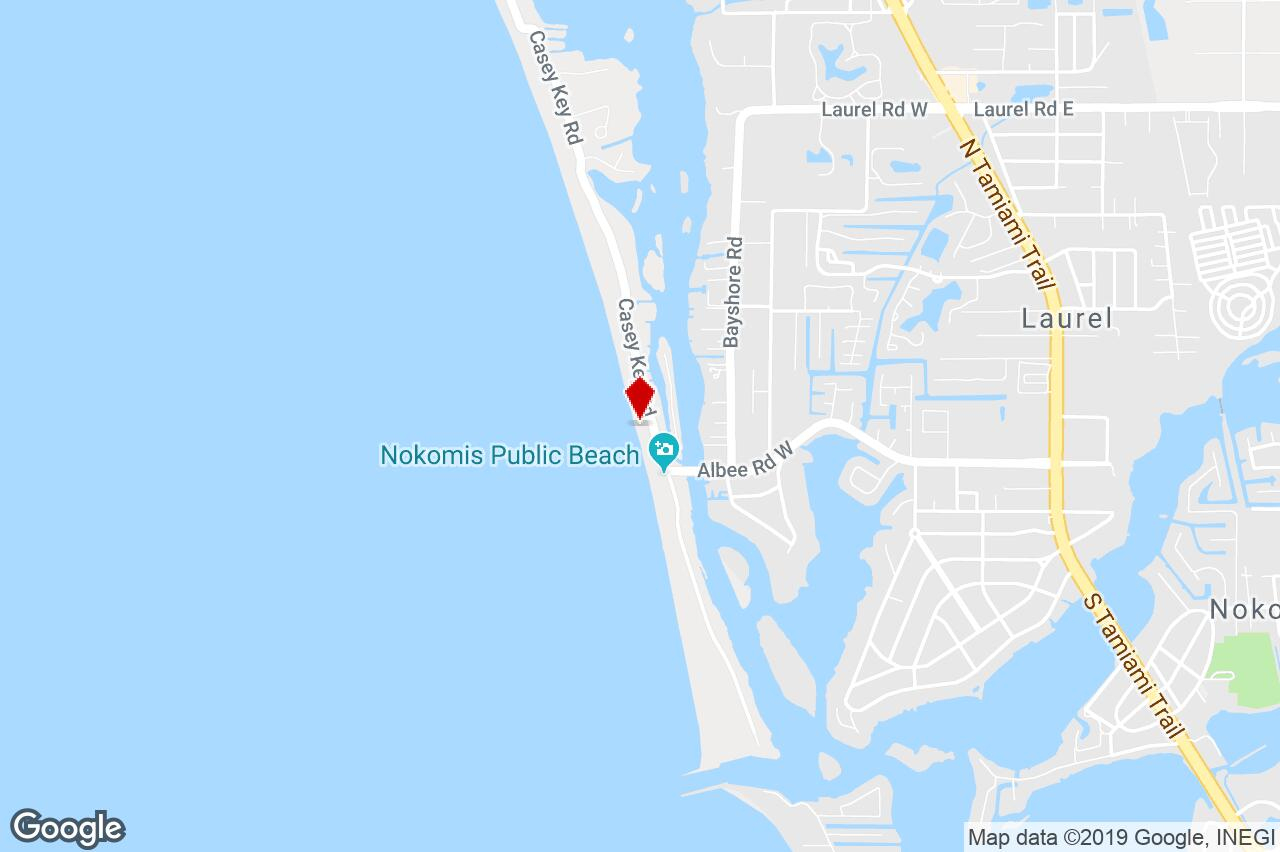 Casey Key Road, Nokomis, Fl, 34275 - Special Purpose (Other - Casey Key Florida Map