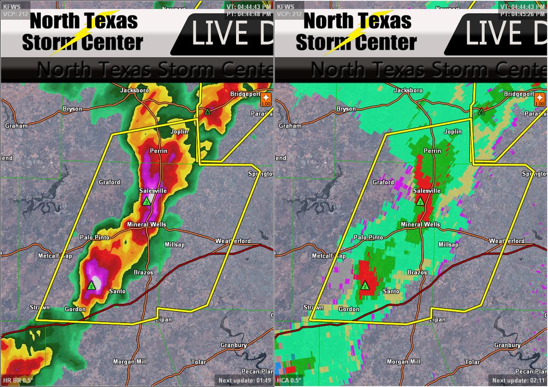 Category: Metroplex - North Texas Storm Center - Texas Hail Storm Map