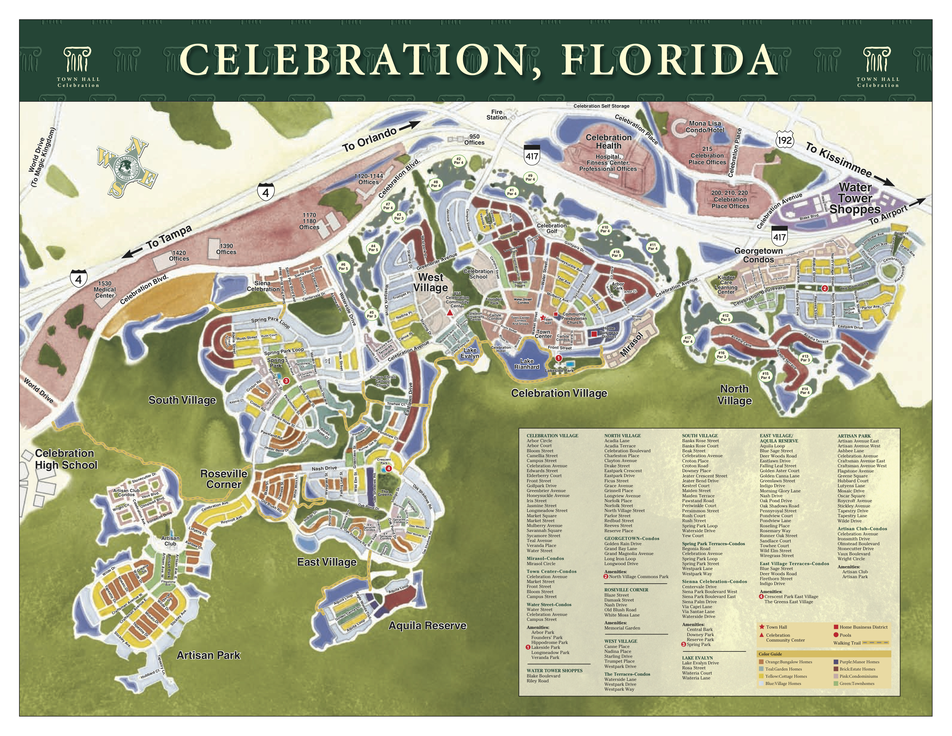 Celebration, Fl Real Estate - Mls Listings Florida Map