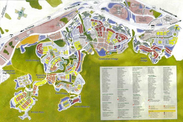 Street Map Of Orlando Florida