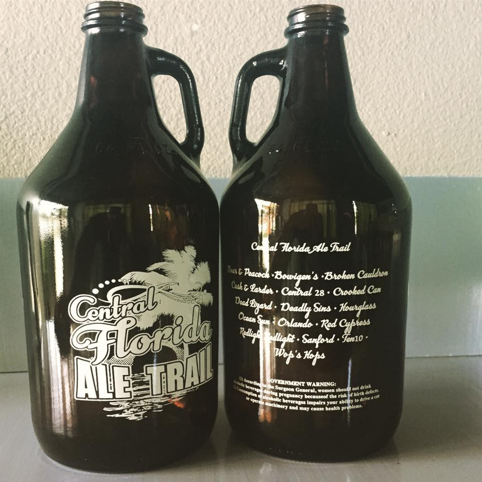 Central Florida Ale Trail – A Trail Of 17 Breweries (And Counting)… - Central Florida Ale Trail Map