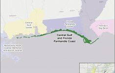 Central Gulf And Florida Panhandle Coast | U.s. Fish & Wildlife Service – Road Map Of Florida Panhandle