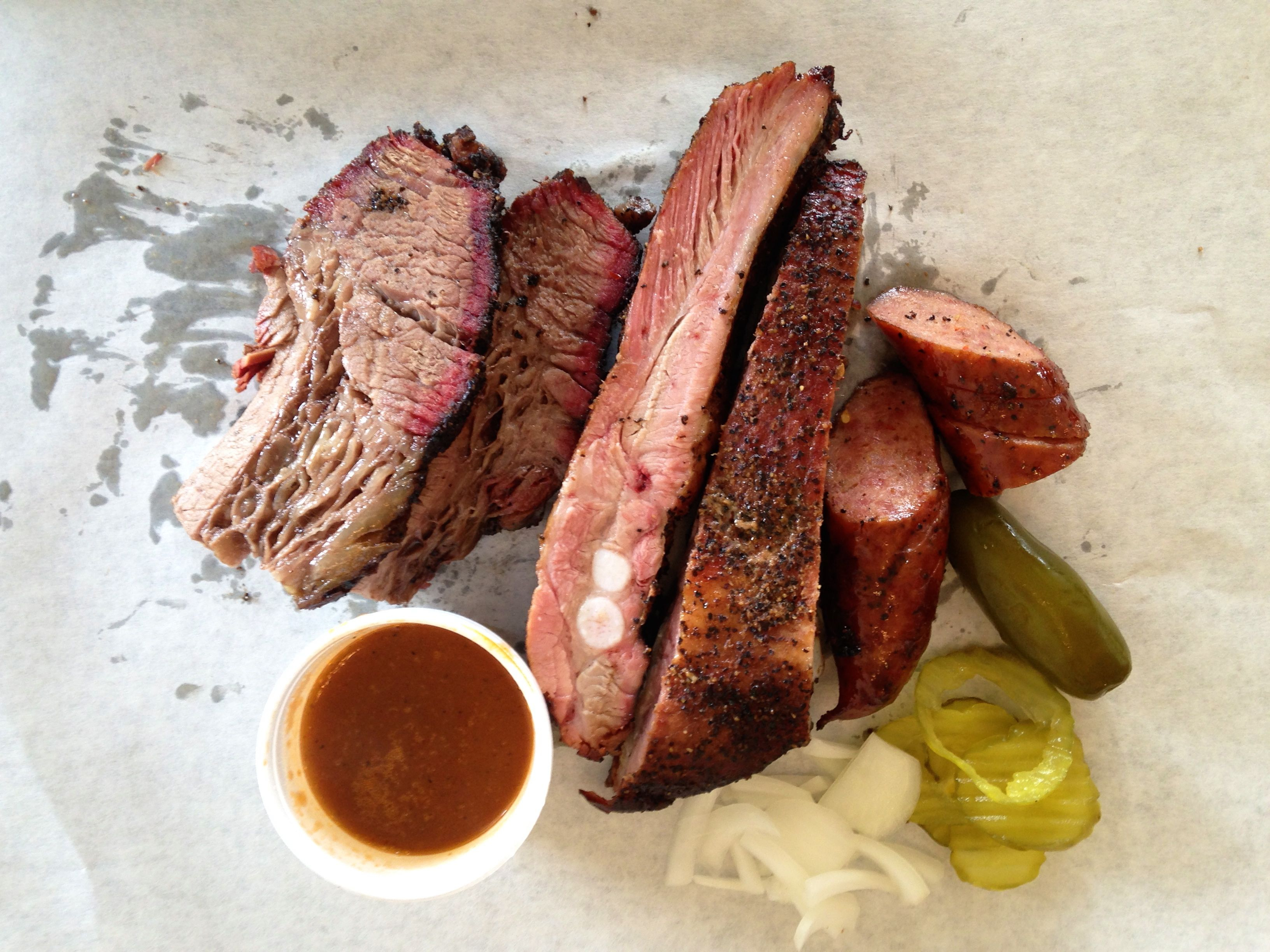 Central Texas Bbq Road Trips – Texas Monthly - Texas Bbq Trail Map