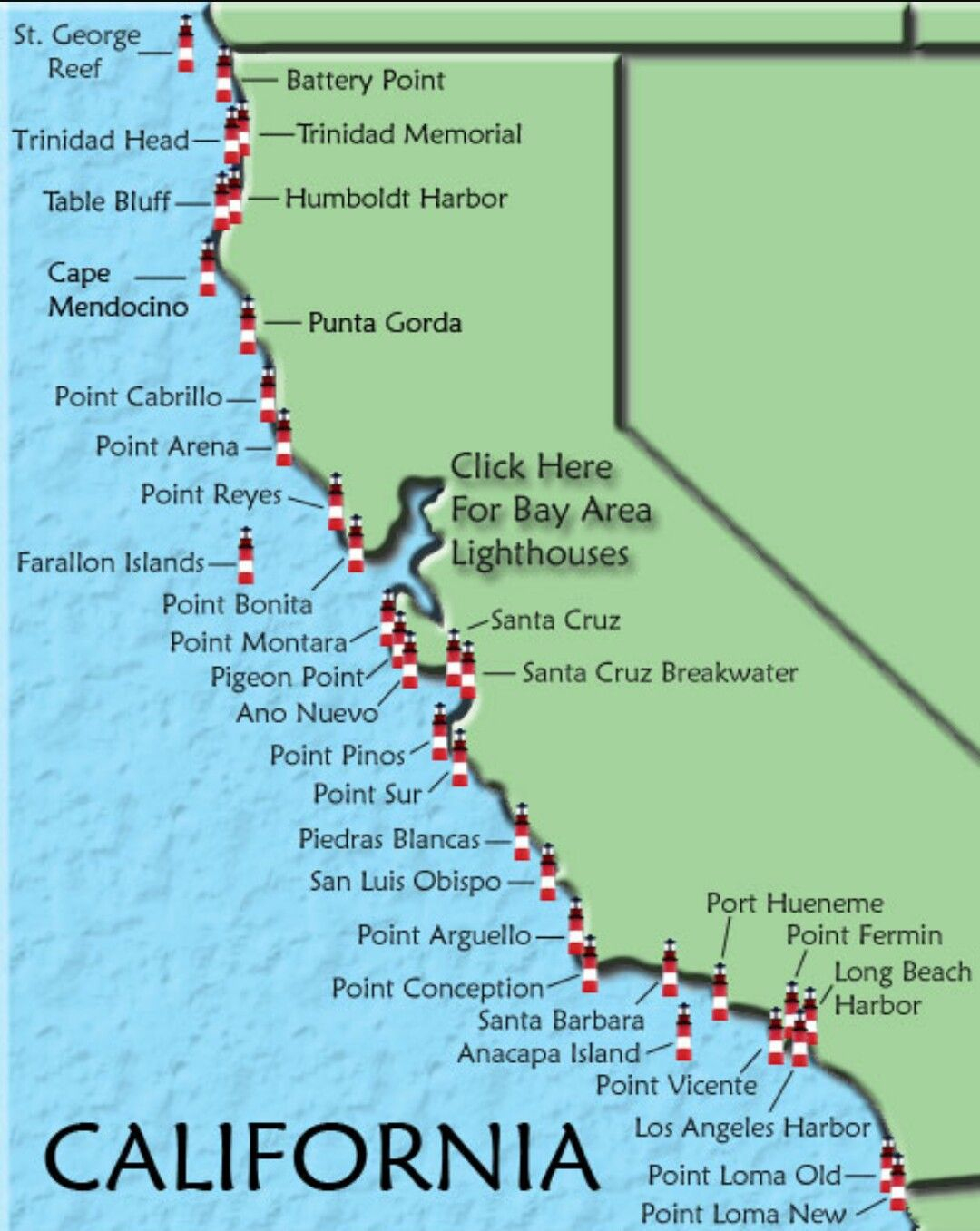 Cfcedabadcfeb Valid Map Of Northern California Beaches Map - Klipy - Northern California Beaches Map
