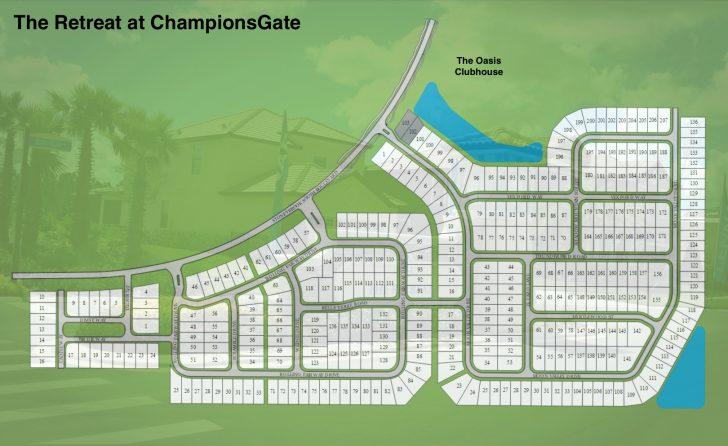 Champions Gate Florida Map