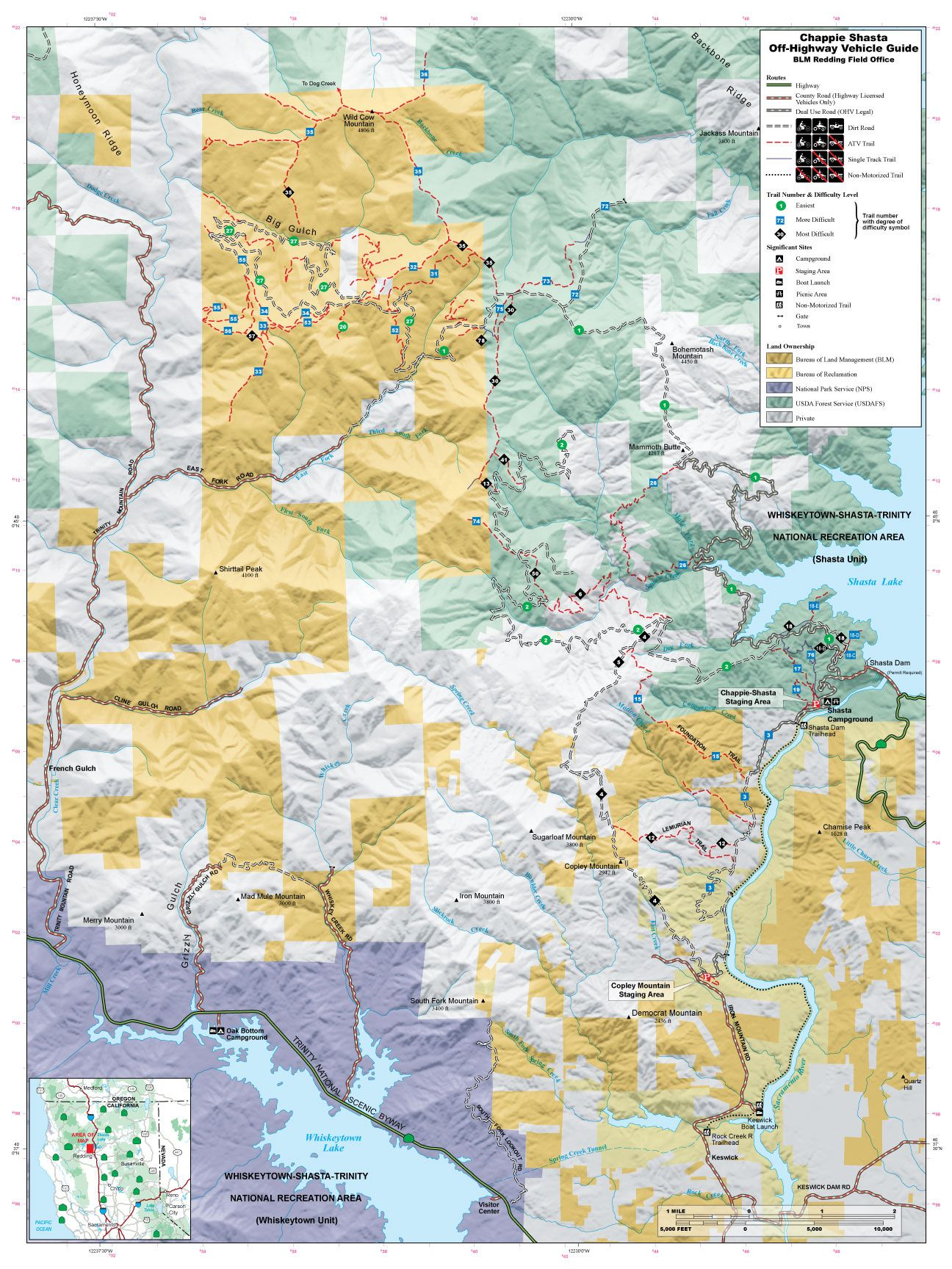 Chappie Blm Map | Off Road | Pinterest | Offroad, Trail And Trail Maps - Blm Ohv Maps California