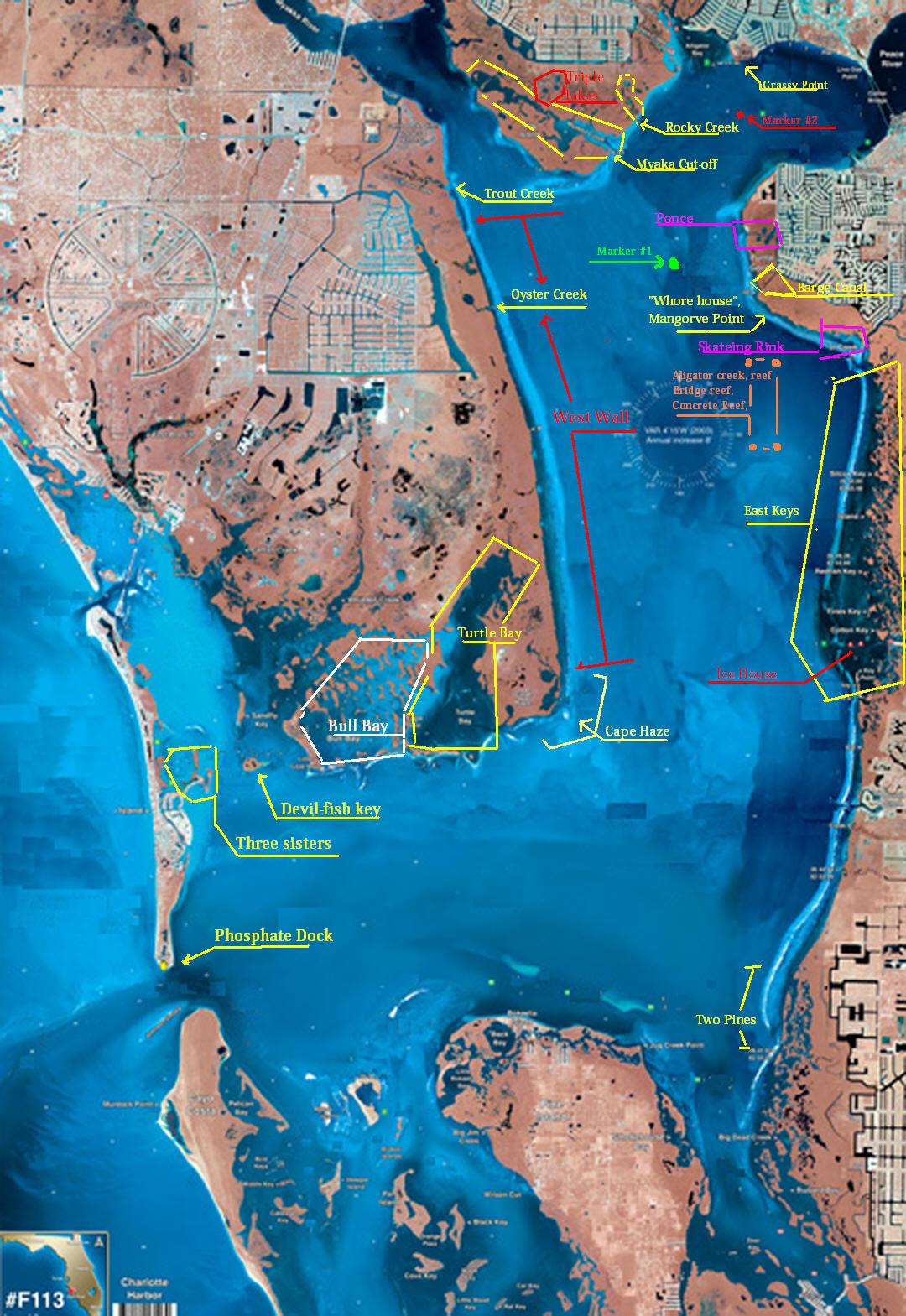 Charlotte Florida Map - Charlotte Harbor Florida Map