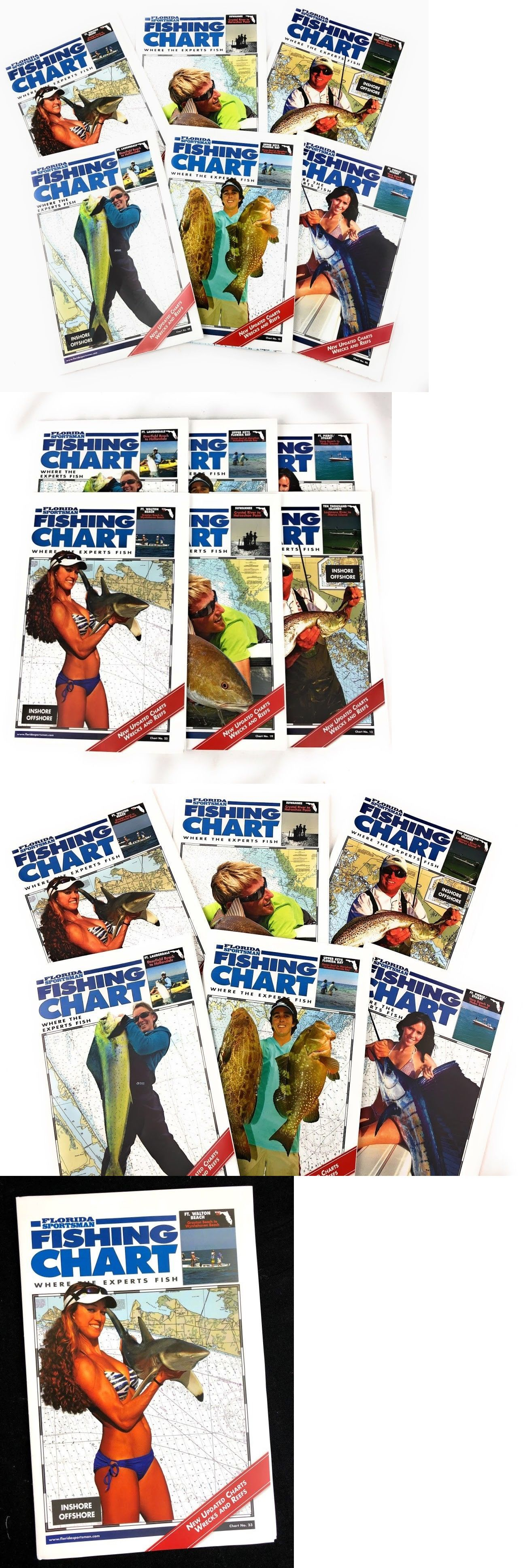 Charts And Maps 179987: Florida Sportsman Fishing Chart Inshore - Florida Sportsman Fishing Maps