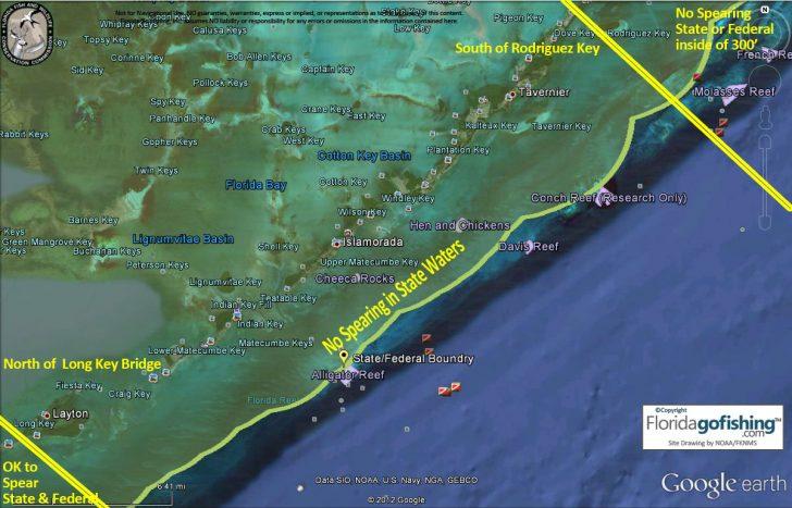 Florida Reef Map