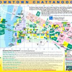 Chattanooga Tourist Map   Printable Map Of Chattanooga
